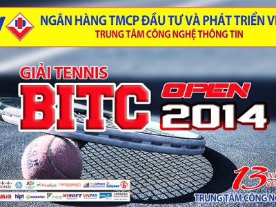 Giải giao lưu Tennis mở rộng Trung tâm Công nghệ Thông tin – BIDV