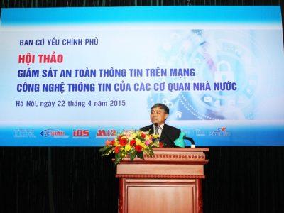 Hội thảo giám sát an toàn thông tin trên mạng công nghệ thông tin của các cơ quan Nhà nước