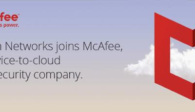 McAfee hoàn tất thương vụ mua lại Skyhigh Networks