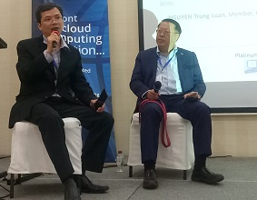 Đại diện Mi2 chia sẻ về Chứng chỉ điện toán đám mây tại Diễn đàn CSA APAC 2019